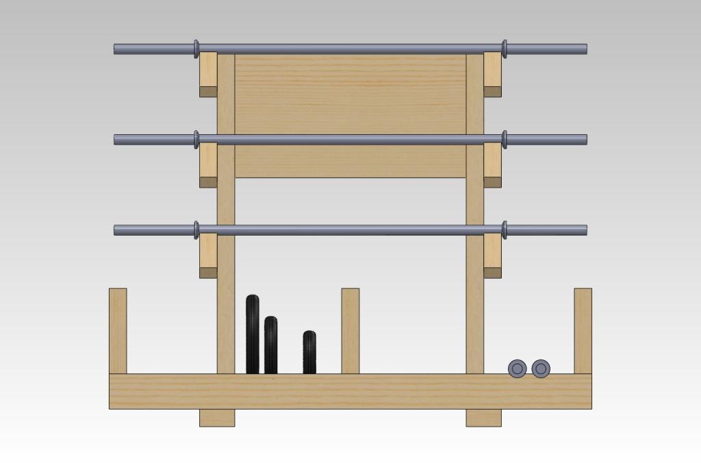 Wooden dumbbell rack plans 28 images dumbbell rack for Diy dumbbell rack wood