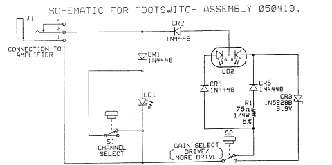 channel fx loop selector for fender amps jasonwolley com schematics